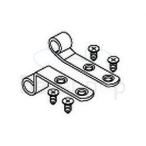 Pressalit A9137 mounting with screws, stainless steel Straps