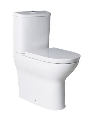 Roca Colina Soft-closing seat and cover for toilet A8019CS004