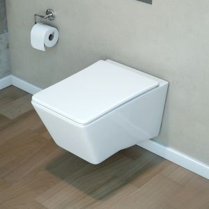 LECICO STEPS TYPE-S  WALL HUNG SEAT STWHSCRS / MITO ROSEIA