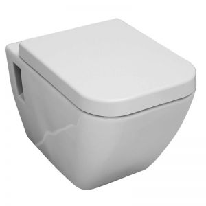Cooke & Lewis Diagonal Toilet Seat and cover Soft Close