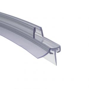Shower Seal Sealing lip bent horizontally