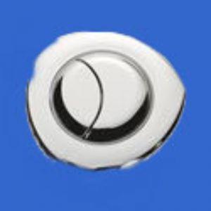 Siamp/Twyford Flush Push Buttons/Dual Flush Valve Push Button Dual flush Pnuematic button Chrome (flush)  31255110