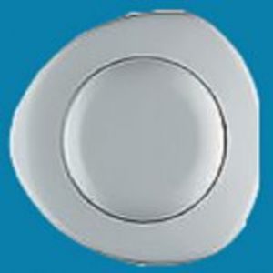 Single flush Pnuematic button White (flush)  31253010 Thomas dudley siamp twyford Toilet Cistern syphon spares