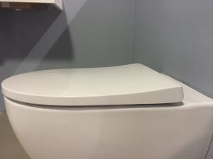 Sphinx 345 toilet seat Slim Seat with Softclosing/Soft Close S8H51206000