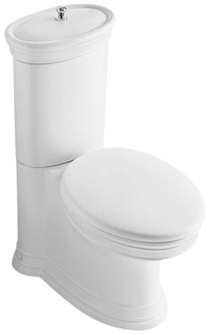 Villeroy & Boch Amadea Toilet Seat and Cover with fittings 8810.61